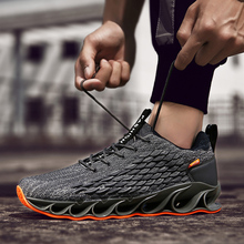 Sneakers Men Running Shoes Laceup Athletic Breathable Trainers Zapatillas Sports Male Shoes Black Parkour Outdoor Walking Shoes onemix man running shoes for men lightweight athletic trainers black zapatillas sports shoe outdoor walking sneakers free ship