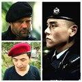 Alta Calidad Soliders Soporte Campamento de Formación Militar de Los Escuadrones de la Muerte Sombrero Boina De Lana Tapas Para Las Mujeres de Los Hombres Clásicos