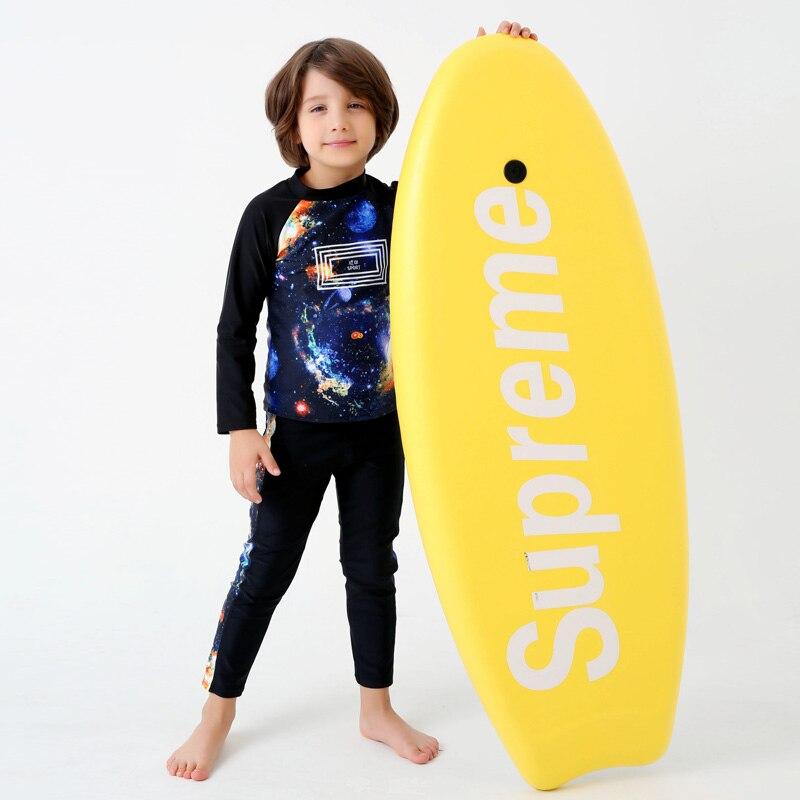 e2cb4ebeea Aliexpress.com : Buy 2017 New Print Starry Sky Swimwear Kids New Long  Sleeves Two Piece Swimsuit Boy Long Pants Beach Surfing Bathing Suit Child  from ...