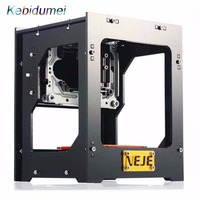 Kebidumei interface USB laser cutter Laser Automatic DIY laser engraving machine Off line Operation + Protective Glasses