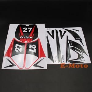 RED Sticker Decal kit 43 47 49cc Dirt Pit Pro Thumpstar Mini Kids Bike Pocket Minimoto New(China)