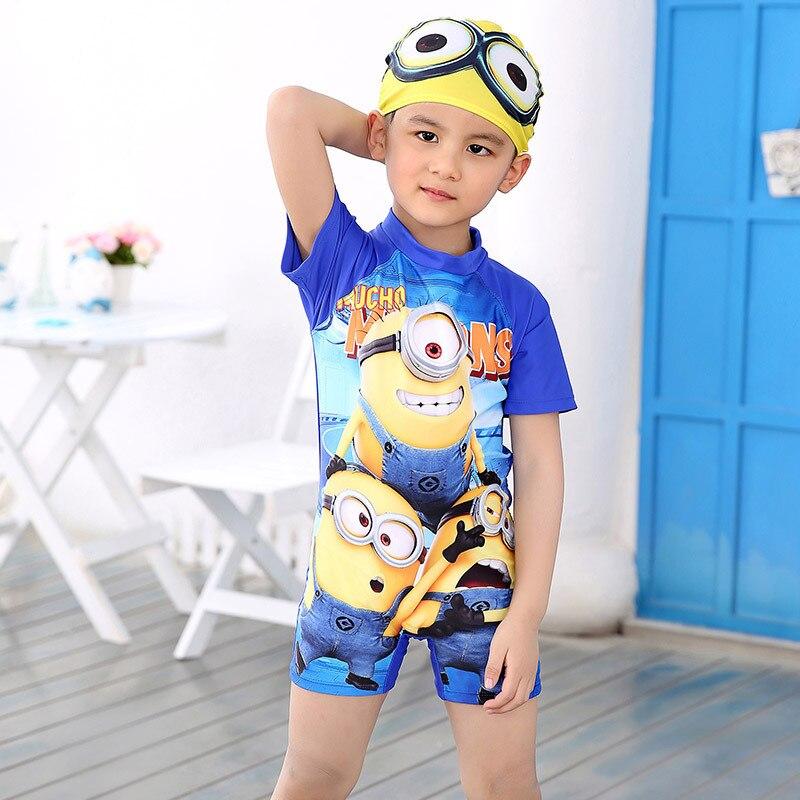 2016 protezione uv bambino beachwear costume da supereroe dei ragazzi di un pezzo costume da bagno