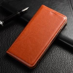 Image 4 - Genuine Leather Flip Case For Huawei Honor 4a 4c 4x V9 V10 V20 Play Mate 8 9 10 20 RS SE Pro Lite Crazy horse Holder Back cover