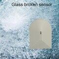 10 шт.  проводной датчик поломки стекла для системы сигнализации  релейный сигнал NC  выход сигнала PA 456  безопасный детектор для домашнего окн...