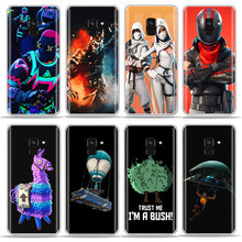 Hot Games Battle royale Dark Voyager Bush bear Phone Case For SamSung S6 S7 edge S8 S9 A6 Plus J5 A5 2017 Soft TPU Silicone Case