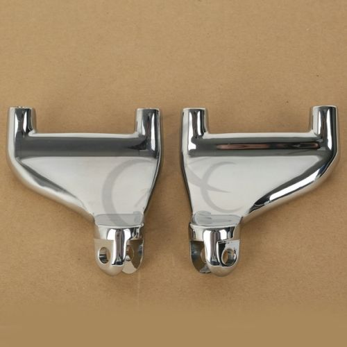Chrome Passenger Rear Foot Peg Footpeg Mount For Harley Sportster 883 1200 04-13