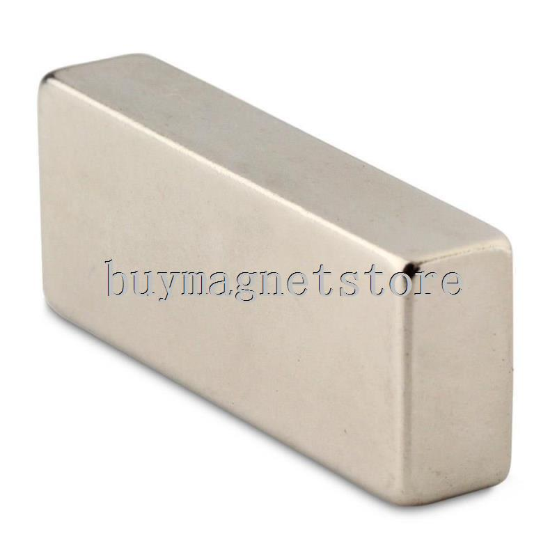 1 pc N52 Super Strong Bloquer Cuboid Aimants En Néodyme 50x20x10mm Rare Earth ndfeb Néodyme neodimio imanes