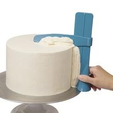 Cake Scraper Smoother Adjustable Fondant Spatulas Edge Cream Decorating DIY Bakeware Tableware Kitchen Tool