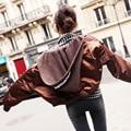 [XITAO] 2016 estilo de la calle de Corea mujeres de la manera Moderna parkas con capucha de color sólido femenino vendimia de la manga completa con capucha parkas HYX004