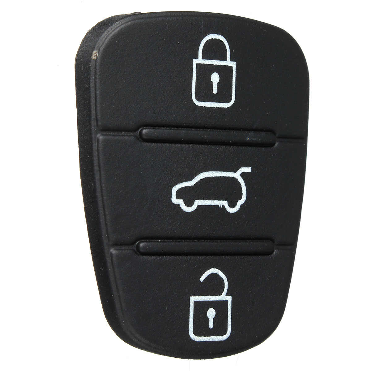 2X Lật Gấp Ô Tô Điều Khiển Từ Xa Vỏ Chìa Khóa Phím Cao Su Nút Miếng Lót Cho Xe Hyundai Solaris Giọng Tucson L10 L20 L30/ xe Kia Rio Ceed