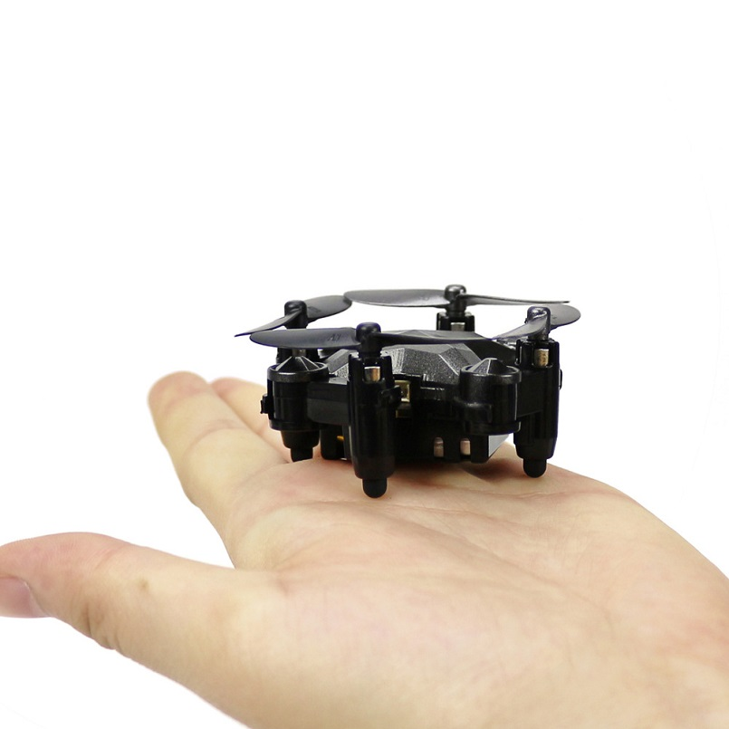DH-800 Mini Quadcopter Wrist Watch Design Mini Foldable Quadcopter Watch Drone RC aircraft Toys 4 Channel Gyro Aircraft