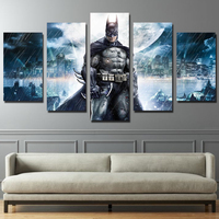 Modular Canvas Painting Wall Art Pictures Frame Home Decor 5 Panel Modern HD Printed Movie Characters
