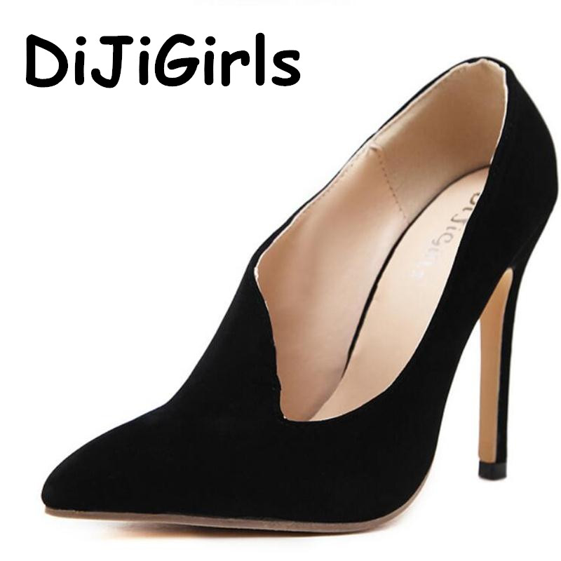 DiJiGirls New Fashion Autumn Women Pumps Pointed Toe Sexy Irregular Roman High Heels Ladies Stiletto Party Wedding Shoes Woman 2017 new fashion sexy pointed toe women pumps platform 11cm high heels ladies wedding nude pumps party shoes