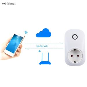 EU US wifi power socket plug for iphone ipad Android smart home domotica 3ed5833b85