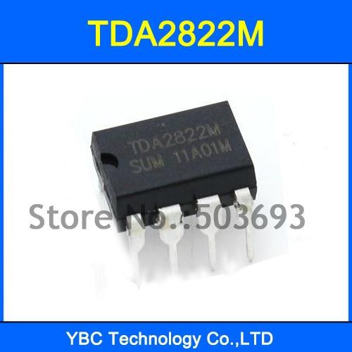 10PCS TDA2822M multipurpose and original IC audio power amplifiers inline DI CJ
