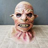 Party Halloween Men Mask Realistic Silicone Horror Masks Prank Toys Halloween Masker Gag Gifts Juegos Interactivos