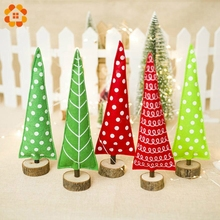 Creative Christmas Tree DIY Mini Trees Placed In The Desktop Small Pine Tree Home Decoration