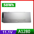 """11.1V 58Wh Laptop Battery For Apple MacBook 13"""" A1278 13"""" Aluminum ,13"""" MB466*/A ,A1280,MB771"""