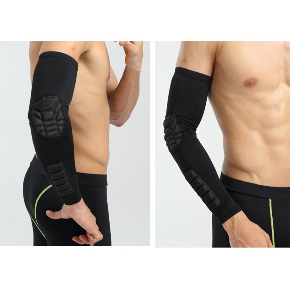 Elbow Pads Compression Shooter Sleeves Men Women Arm Sleeve With Pad For Basketball Football Cycling Fishing Tennis Elbow