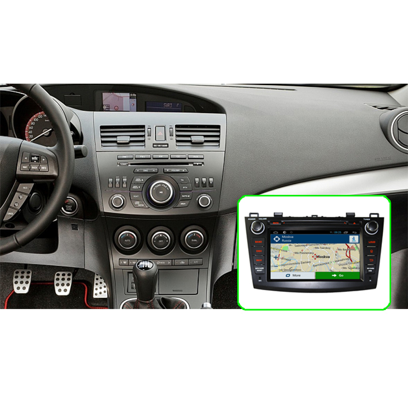 greenyi 4g ram android 8.0 car dvd for mazda 3 2009 2010 2011 2012