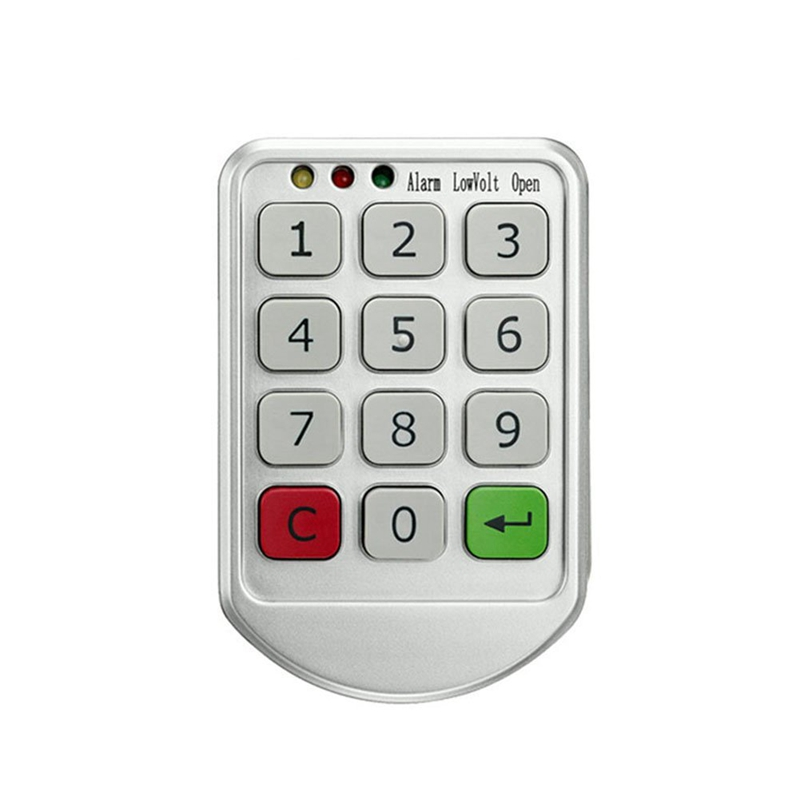 Electronic Digital Password Lock Password Keypad Number For Cabinet Door Drawer Code Locks Combination Lock keyless digital lock keypad password code spring bolt access electronic door locks l