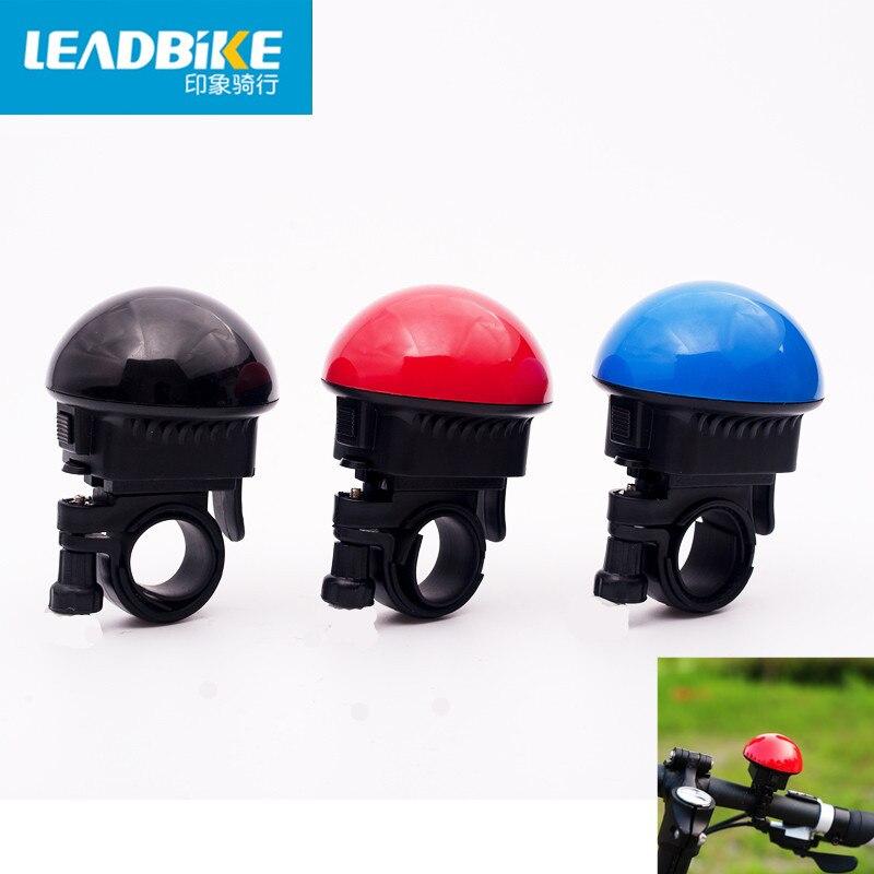 Leadbike 새로운 자전거 전기 경적 UFO 모양 슈퍼 시끄러운 자전거 경고 벨 MTB 도로 자전거 핸들 링 뿔 자전거 액세서리