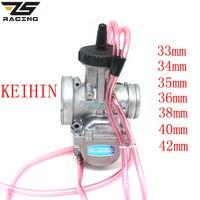 ZS Racing KEIHIN PWK 33 34 35 36 38 40 42mm PWK38 AIR STRIKER CARBURETOR Quad