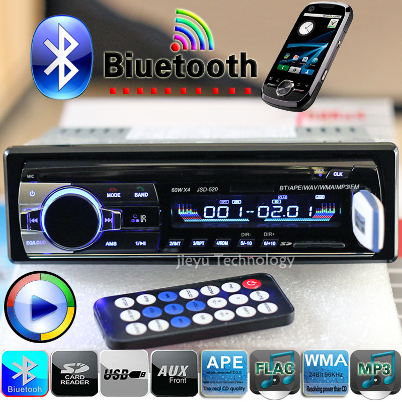 New 12V Bluetooth font b Car b font Stereo FM Radio MP3 Audio Player 5V Charger