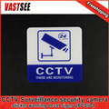 2pcs Sticker Warning Decal Signs Home CCTV Surveillance Security Camera