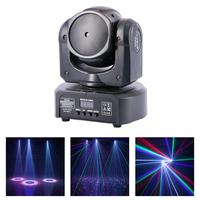 AUCD 1 Eye RGB Laser Shark Moving Pattern Beam Ray Projector Lights DMX Professional Disco DJ Home Party Show Stage Lighting H1C