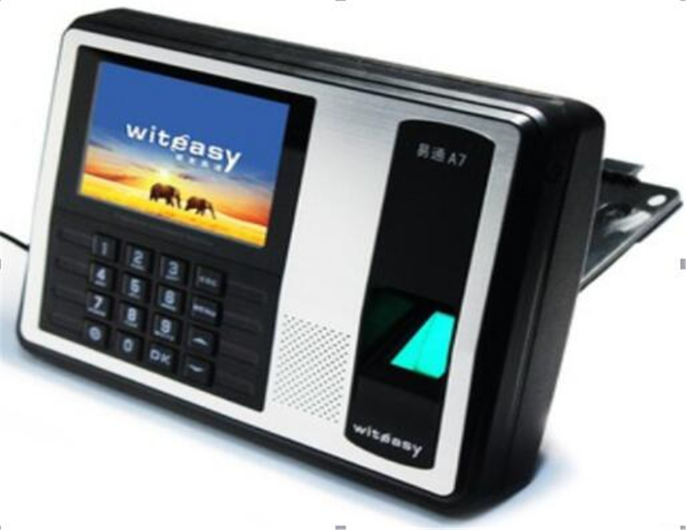 4 Inch Color Monitor   Fingerprint/Password/ID Card   Time Attendance A74 Inch Color Monitor   Fingerprint/Password/ID Card   Time Attendance A7