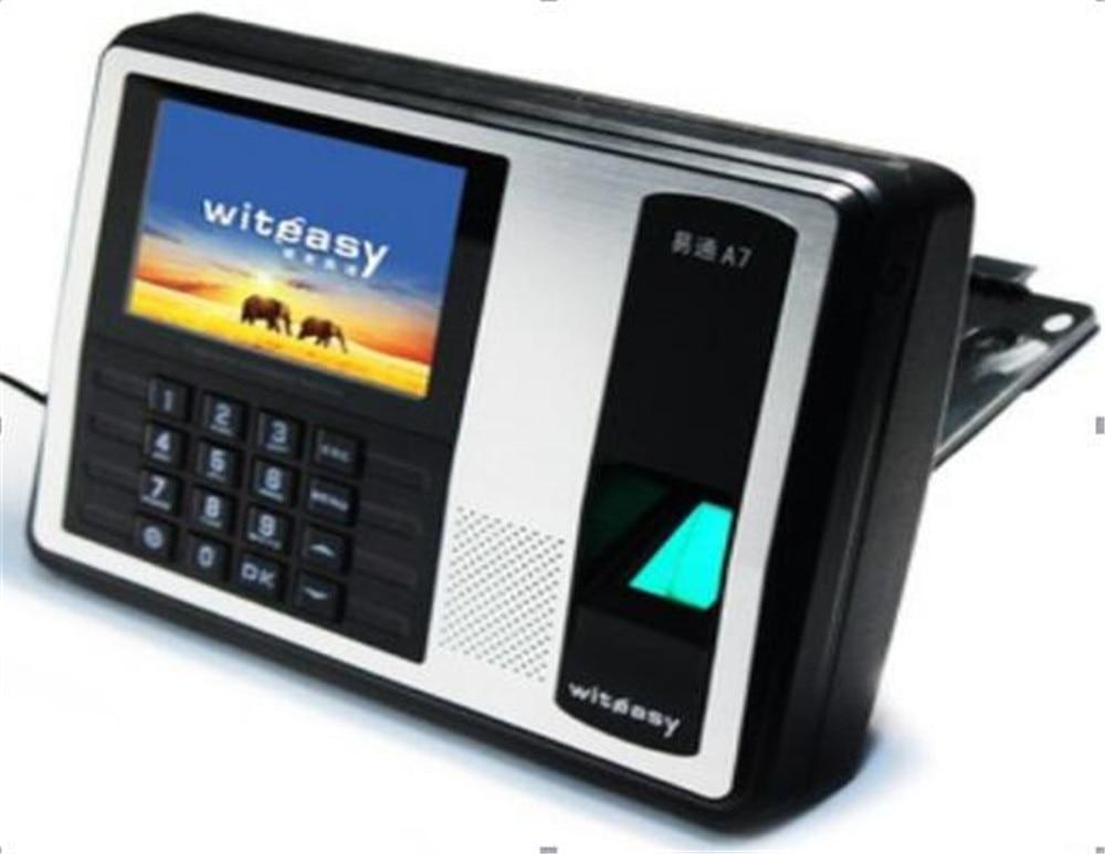 4 Inch Color Monitor   Fingerprint/Password/ID Card   Time Attendance A74 Inch Color Monitor   Fingerprint/Password/ID Card   Time Attendance A7