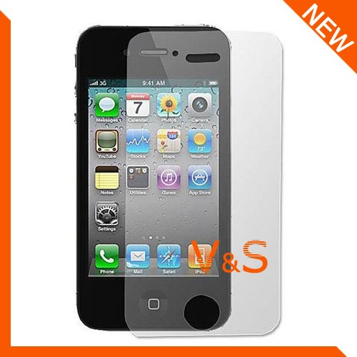 High quality Matte Screen Protector for iphone 4/4S with Retail Package 20pcs/lot(10pcs film+10pcs cloth)