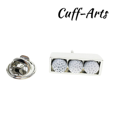 Cuffarts Sport Brooches Fashion Golf Balls Set Lapel Pin Trendy Handsome Luxurious Enamel Pins Original P10098