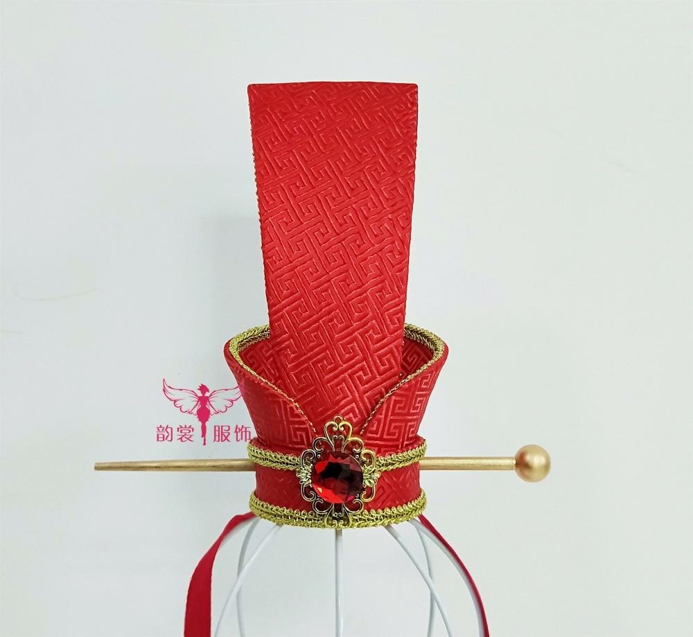 Motiviert 2 Designs Alte Chinesische Hochzeit Bräutigam Männlichen Haar Tiara Zhou Dynasty Hochzeit Hut Cosplay Haar-accessoire Rabatte Verkauf