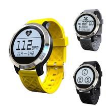 Paslanmaz çelik f69 spor smart watch bluetooth 4.0 ip68 kalp hızı spor izci uyku monitör adımsayar İzle