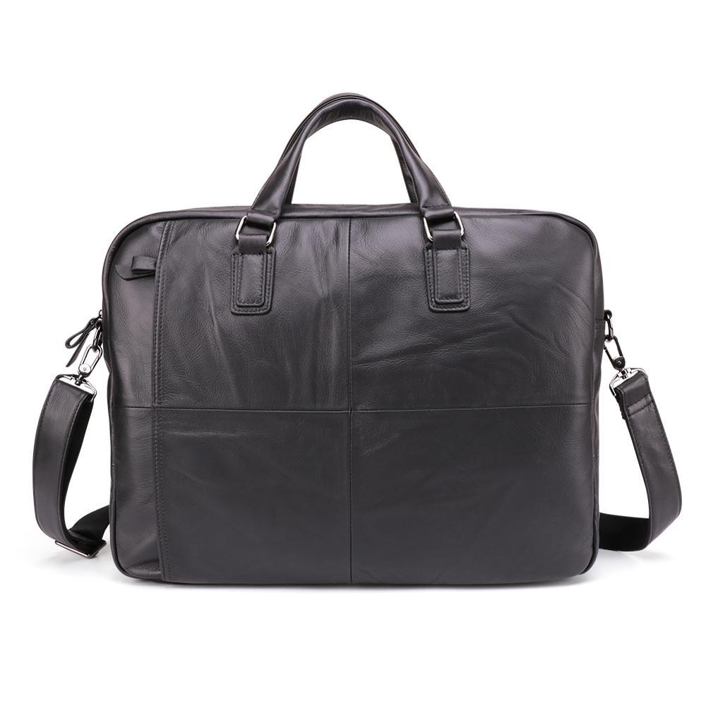 السفينة حرة الرجال حقائب المحامي حقيبة جلد طبيعي خمر محمول حقيبة حقيبة ساع عارضة حقيبة رجالية للمستندات-في حقائب جلدية من حقائب وأمتعة على  مجموعة 1