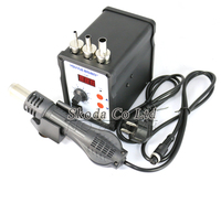 110 220V 700W SMD Repair Station ESD Soldering Station With 3 Pcs 858 Nozzle For BGA