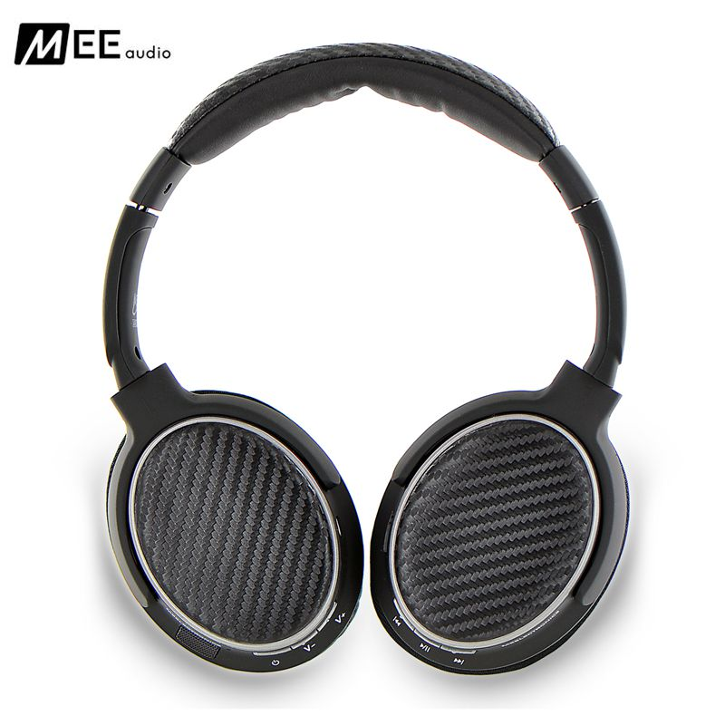 MEE Audio MATRIX3 AF62 Stereo Wireless Bluetooth Headphones with Microphone Active Noise Cancelling Headset Headphone for phone yamay over the head bluetooth headset rechargeable wireless headphones with microphone noise cancelling for mp3 pc audio phones