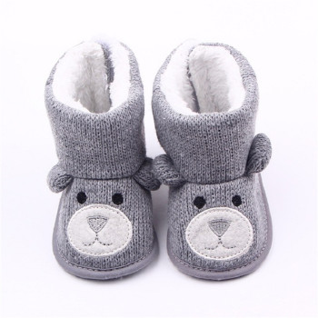 Keep Warm Cute Cartoon Bear Shoes Shoes Baby & Moms Fashion Accessories Kids & Mom Winter