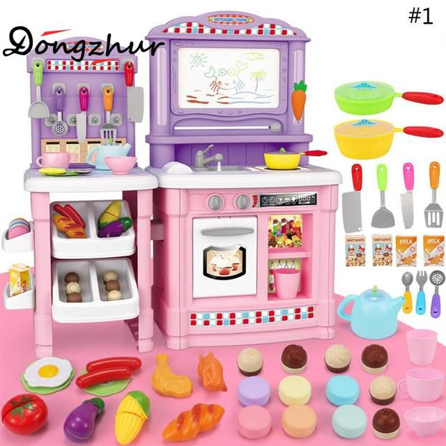 Dongzhur north american style dinner table kitchen model plastic dongzhur north american style dinner table kitchen model plastic childrens simulation kitchen baby house play educational workwithnaturefo