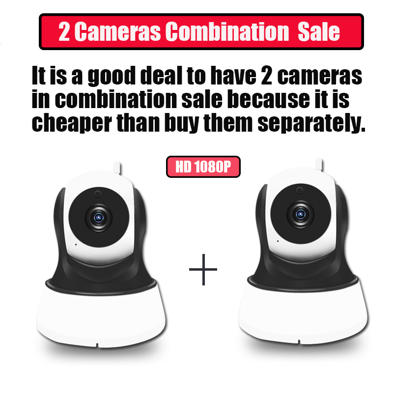 Surveillance IP WiFi Camera HD 1080P Security Wi fi PTZ Camera Wireless Home P2P Audio Monitor Combination Sale IP Cam#45 - 6