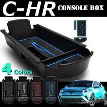 UNON CAR STYLING For Toyota C HR CHR C HR 2017 2018 Plastic Blue Central Armrest