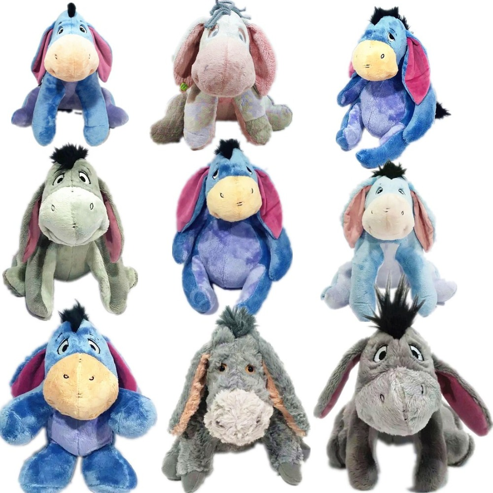 1pieces/lot 22cm Plush Eeyore Doll Burro Toys Collective Edition Festival Christmas Gift Toy For Children