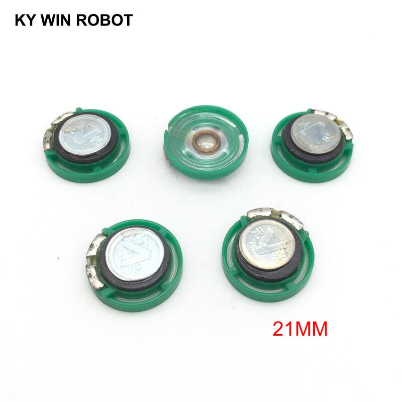 5pcs/lot New Ultra-thin Speaker Doorbell Horn Toy-car Horn 8 Ohms 0.25 Watt 0.25W 8R Speaker Diameter 21MM 2.1CM Thickness 7MM