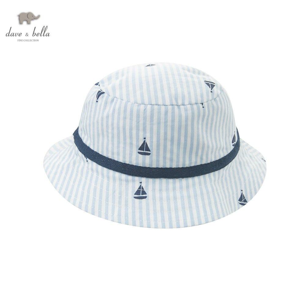 b14b62328f64c DB5873 H dave bella bebê verão meninos listras brancas azuis chapéu meninos  bonito chapéu meninos balde chapéu em Toucas e Bonés de Mãe   Kids no ...