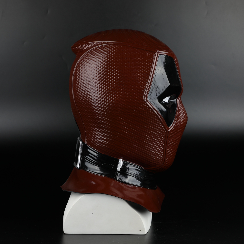 2018 New Moive Deadpool 2 Mask Breathable PVC Full Face Mask Halloween Cosplay Props Wholesale Hood Helmet On Sale!!! (25)