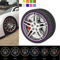 Universal 8m Car Styling Tire Tyre Rim Care Protector Hub Wheel Stickers Strip for BMW VW Toyota Mazda Accessories