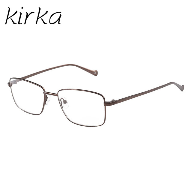 Kirka Men Optical Metal Glasses Frame Clear Fashion Myopia Glasses ...