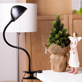 Order Brightness Night Reading Light Desk Lamp Led Foldable Rechargeable Bright Clip Reading Table Lamps Eye Protection